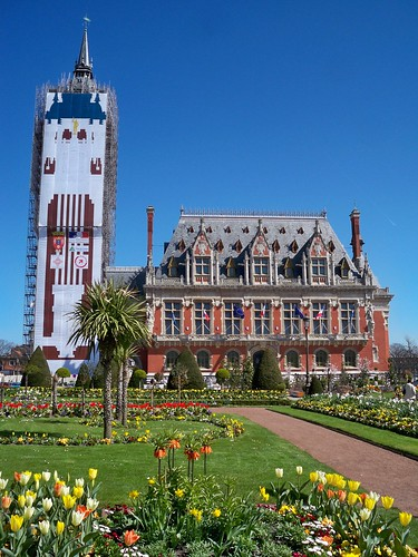 Calais City Hall and Gardens