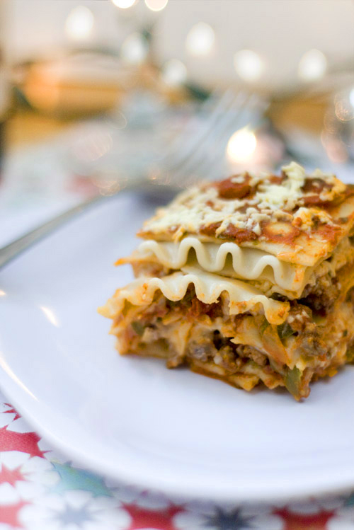 Gluten Free Chops: Gluten Free and Dairy Free Lasagna