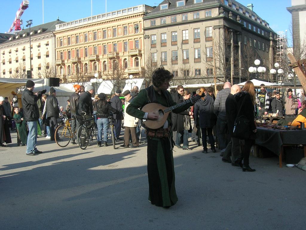 Medieval market in Stockholm, 2010 Apr - 11