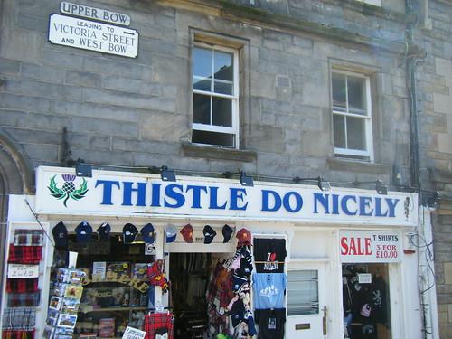 Toot shop in Edinburgh