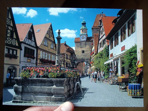 postcard from Rothenburg