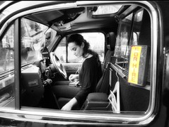 Taxi for hire .. London