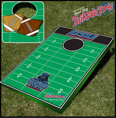 Georgia State Bean Bag Toss Game