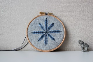 4 inch hoop embroidery - winter - take 2