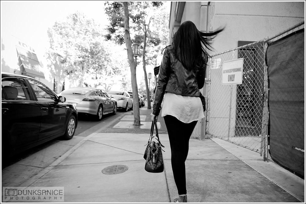 Walk B&W.