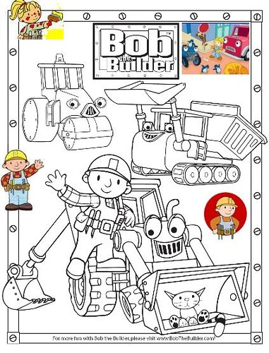 bob the builder printables | bob_the_builder_coloring_pages_001 ... | 500x381