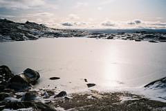 Saana (immu) Tags: mountain snow mountains ice landscape pond lappland lapland saana tunturi