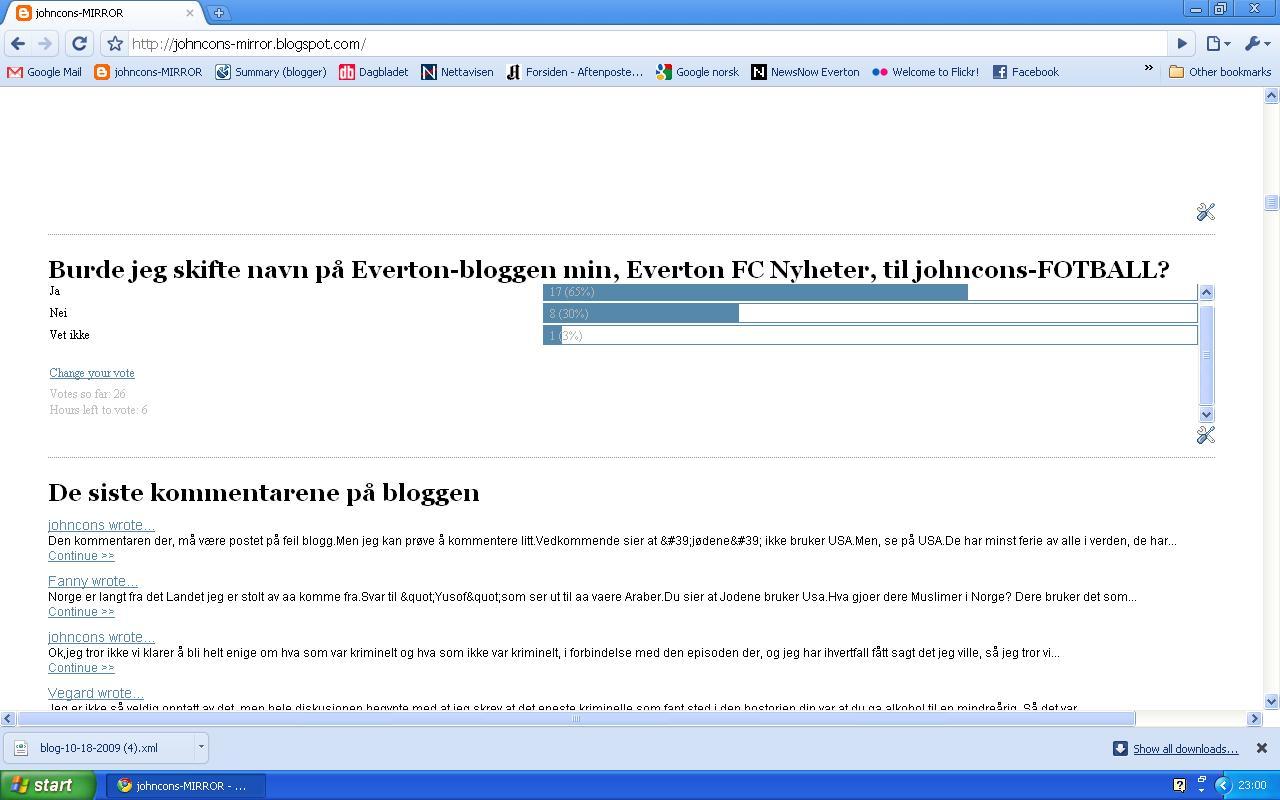 avstemning everton blogg