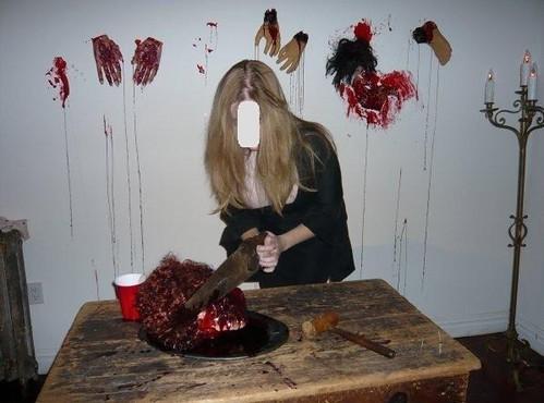 Halloween haunted house 2008