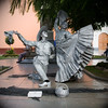 Les statues vivantes  (Trujillo, Pérou, Mai 2009)