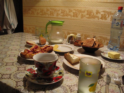 Irkutsk Hostel Breakfast