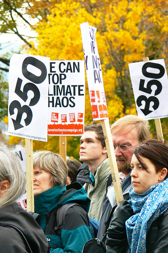 International Day of Climate Action - Toronto Chapter goes positive.