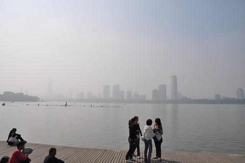 Lake in Nanjing