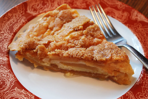 Apple Custard Pie - Fake Ginger