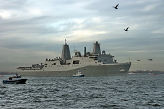 USS NEW YORK - HARBOR - AVIATION (kevinh_photos) Tags: nyc usa newyork america ship 21 worldtradecenter 911 navy nypd hudsonriver wtc sept11 marines neverforget ussnewyork kevinhphotos
