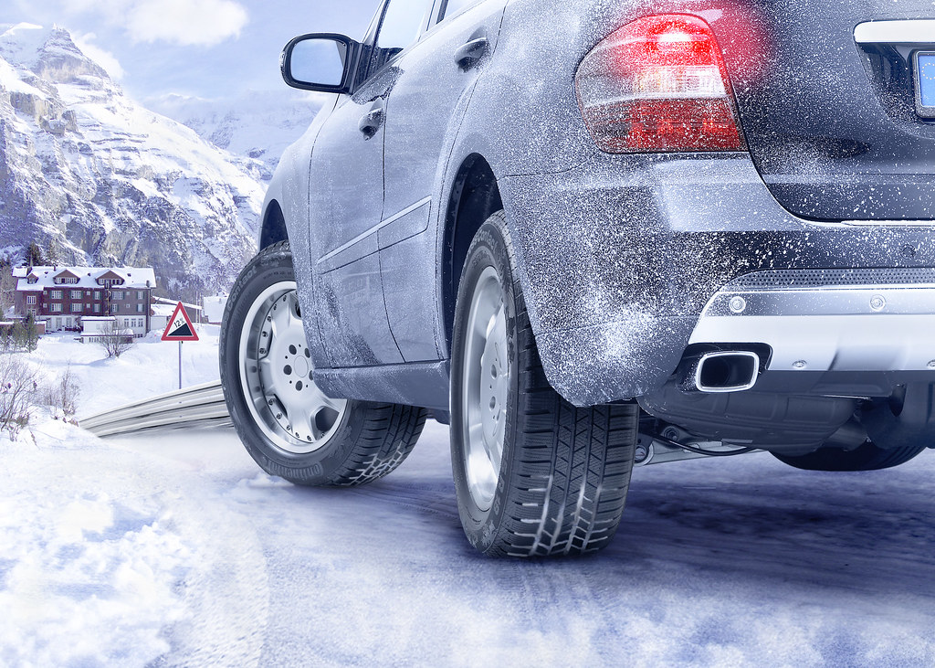 Continental Car Tyres - ContiCrossContact Winter On The Road