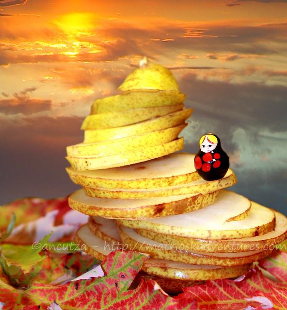 fiabe con frutta divertente e frutta creativa