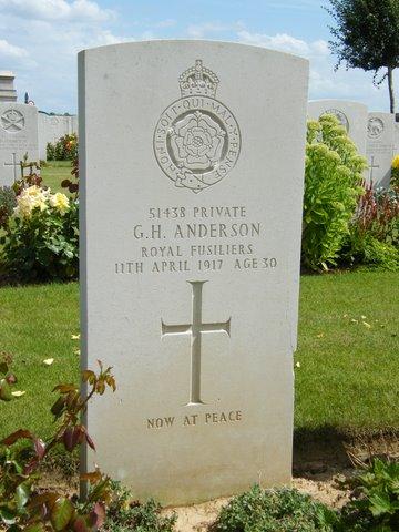 Private George Hamilton Anderson