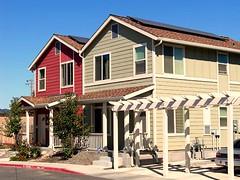 solar panels on the roofs (via Inhabitat)