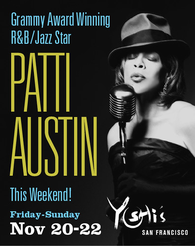 Patti Austin This Weekend in SF!!!!