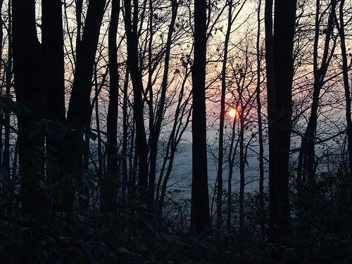 sunrise from Laurel Ridge