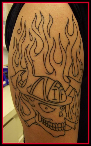 Chris' Tattoo by cinderella.girl63. From cinderella.girl63