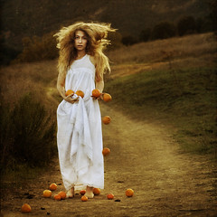 a story in older terms (brookeshaden) Tags: sunlight path story older nostalgic times oranges terms brookeshaden