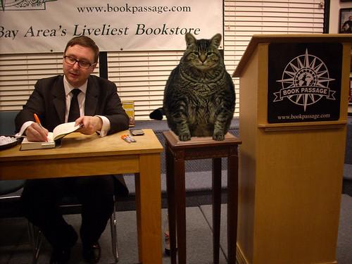 John Hodgman and Parker