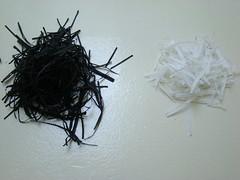 Papier de soie dechiquete