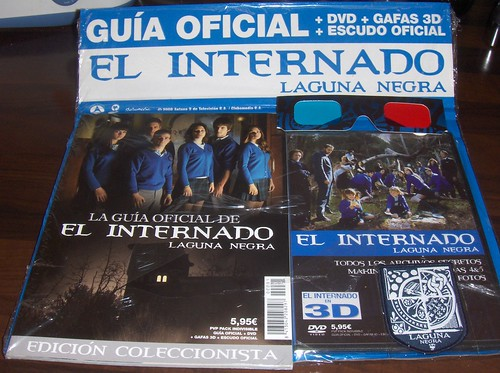 internado fan pack (with 3D gafas!)