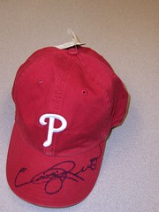 Jimmy Rollins Cap to Raffle!
