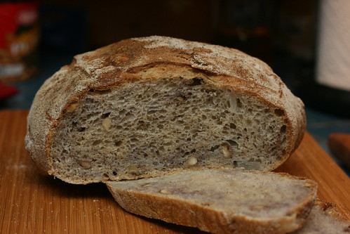 Walnut Pear Sourdough