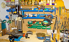 Mini Mill (tudedude) Tags: mill metal bench model mechanical machine engineering hobby workshop precision engineer drill milling millingmachine gbr machining modelengineering minimill modelengineer milldrill tudedude