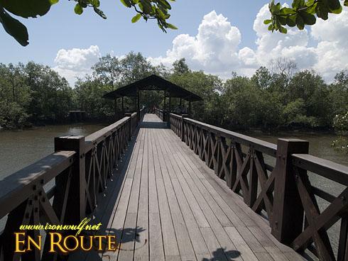 Sungei Buloh Wetlands Reserve Main Bridge