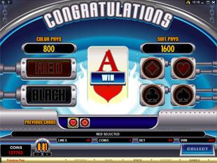 free Pure Platinum gamble bonus game