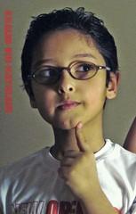 Thinking Of Doing Something !!! (K.F.H) Tags: life portrait hot naughty landscape kid still pin nissan blackberry sony flash uae bad bin doing saudi arabia lil p bro bb 2008 riyadh gmc dsc hdr patrol  bbm bold  9000 qatar  ksa   vtc         vortec   kfh      ajmi