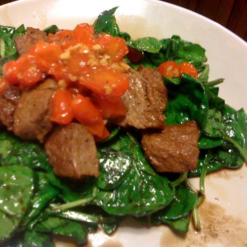 capris style steak