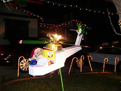 Spongebob, Teddy, and Kermit.. (RedBessBonney) Tags: christmaslights christmaseve 2009 sleepyhollow