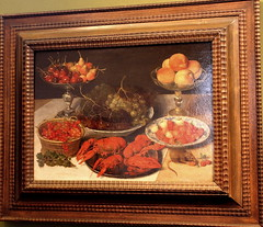 Georg FLEGEL, Still life with fruit (Ondra Havala) Tags: life wood art history fruit museum canon painting still gallery prague sigma galerie exposition national frame painter oil highiso flegel georg olej malba noisereduction 2470 sternberg palc 40d canon40d ternbersk