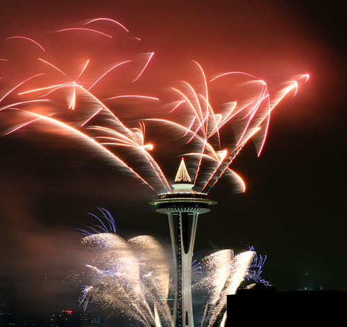 Day 156/365... Happy New Years from the Needle