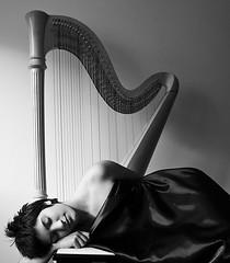 The Harp Sessions: Interlude (eugkyr) Tags: portrait bw harp sessions interlude blackwhitephotos artofimages bestportraitsaoi committeeofartists elitegalleryaoi eugkyr