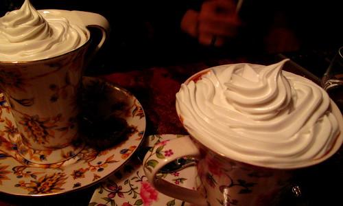 说是最贵的巧克力店里的热巧克力