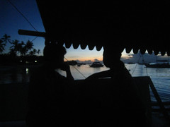 On Our Way to Pamilacan Island From Alona Beach Bohol