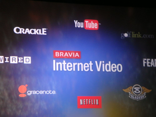 ブラビア インターネット