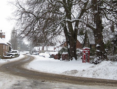 More snow, Chilton Buckinghamshire