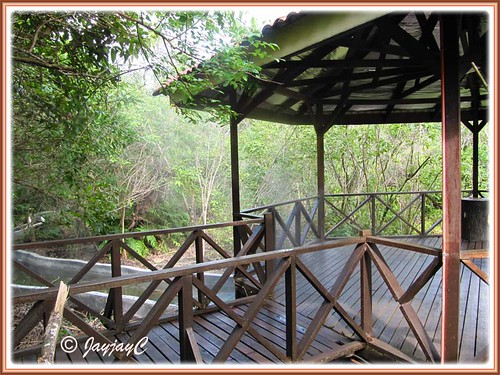 Board walk at Felda Residence Hot Springs (Sungai Klah Hot Springs Park)