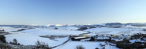 Straiton hills from Maybole
