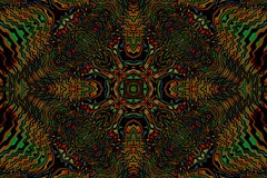 (eotiv) Tags: red orange abstract green geometric dark design pattern ab kaleidoscope line wavy chaotic overlap segmented