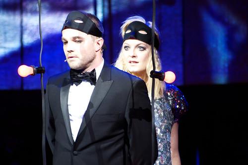 Jon Øigarden som Romeo og Marianne Hole som Julie.