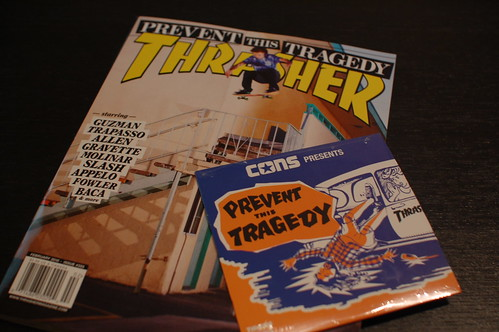 THRASHER MAGAZINE #355